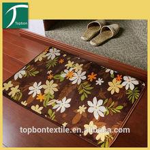 2014 Fashion sport scottish printed rug