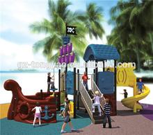 Children outdoor playground pirate ship