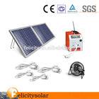 Solar home lighting system kit DC small solar system portable soalr generator solar system 10W 20W