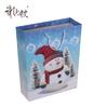 OEM Christmas Snowmen Gift Paper Bags For Shopping