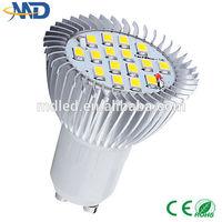 4W 5630 smd GU10 led spotlight 110V 220v 12v 3 years warranty gu10 halogen spotlight