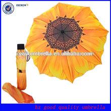 New inventions popular aluminium flower gift umbrella