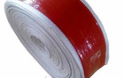 silicone rubber coated non-alkali fiberglass braided tape for protect hoses, wires and cables from the hazards of high heat and