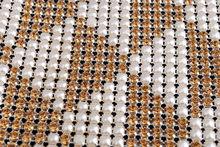 soft plastic table edging trim Diamond Mesh Decorative Rhinestone
