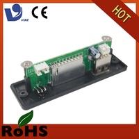 china printed usb sd memory card audio circuit board