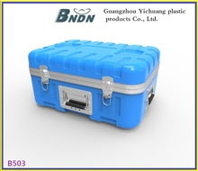 new style large plastic tool case,hard plastic equipment storage case.
