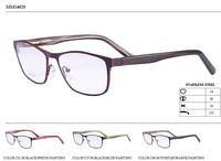 Metal with engrave painting eyewear optical eyeglasses frame