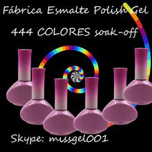 Oferta y mas ofertas de geles con tu propia marca!!!! 444 Colores de gel polish