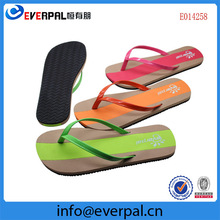 assorted colors custom flip flops