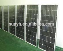 High Quality Mono Solar Panel 100W Factory