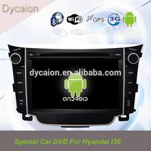 Car stereo dvd player for Hyundai I30 Bluetooth/Andriod Hyundai I30 canbus wifi /7 inch car video dvd player Hyundai I30