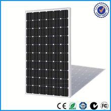 low price and MOQ 5w to 300w sunpower solar panel price