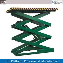 Storage Hydraulic Scissor Lift Platform for Car