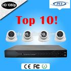 4Channel 1080P HD-SDI Indoor DVR CCTV Camera Kit System
