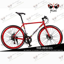 charming red color 2014 hot race road bicycle swift road bikes