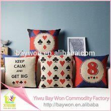 High quality promotional digital printed cushion
