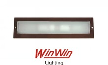 Wood Simple Frosted Glass E12 LED Wall Light