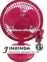 """2014 new home appliance 6""""mini clip fan table fan with ETL"""