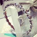 venta al por mayor de cristal de diamante de imitación novia de la boda accesorios de la joyería
