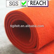 Wool felt fabric, 100% wool felt , color felt
