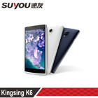 KingSing S1 5.5 inch touch screen 8.0MP Pixel MTK6582 Quad Core 1.3GHz 512MB rom 4gb dual sim android 3g rotatable cell phone