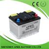 DIN55 12V 55AH Sealed Lead Acid Maintenance Free Starting Dry Car Battery