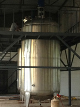 316/304 Stainless steel Alcohol/dairy/beer fermentation tank with agitator