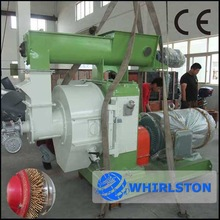 Popular sale in stock wood palm tree/cutting palm leaves making pellet machine price