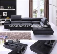 Home furniture for latest modern design leather sofa set