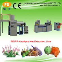 polypropylene knotless net bag producing machine