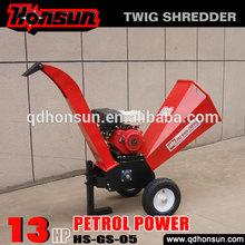 13hp Honda , 13.5hp Briggs & Stratton and 14hp Kohler engine best size petrol power chipper