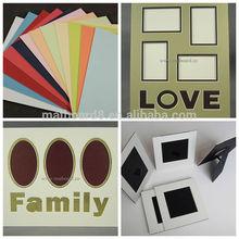 custom wholesale high grade multi opening matboard ready cut matboard precut matboard