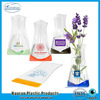 Cheap Clear PVC Plastic Vases for Flowers promotion