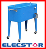 Ice Chest Cart Cooler with custom made LOGO, outdoor cooler cart