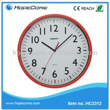 (HC2312) wall clock plastic goods
