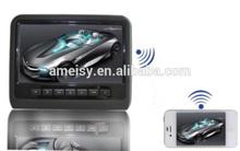 car headrest monitor with hdmi input beige,black,grey optional