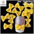 3d bow decoração de unhas para o tep / dedo unhas