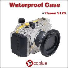 MCOPLUS Underwater Universal Waterproof Camera Cover Case for Canon EOS S120 Digital Camera