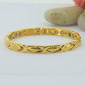 al oeste de la india las mujeres modelos de diseños de pulseras de oro 24k pulsera