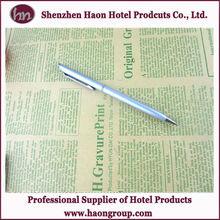 hotel room metal twist promotional ball pen