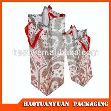 2014 paper bag, paper shopping bag die cut handle paper bag