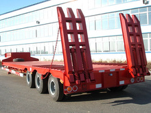 3 axle lowbed tractor trailer for sale