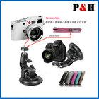 Universal car camera video suction mount camera holder
