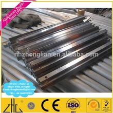 Wow!! Aluminium profile CNC machining/aluminium table leg with drilled holes/CNC drill drill used table aluminium price per kg
