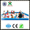 Best selling big multi-function sand play equipment plastic play sand pool kids water play sand QX-083A