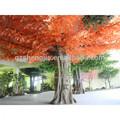 venta al por mayor sjm0904133 al aire libre jardín decorativo artificial de árboles de madera de arce rojo del árbol