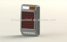 alarm system paradox solar power wireless warning lamp