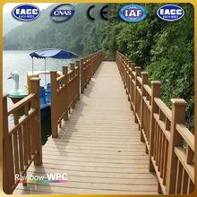 Factory Waterproof CE,ISO,SGS,TUV Certification wood plastic composite waterproof raised floor
