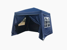 blue 2.4X2.4/3x3M with saidwall with foot cover Hot sales patio Gazebo with saidwall