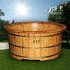 New solid wood swimming pool tub, freestanding tub